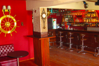 Fethiye - V-GO's Hotel & Guesthouse : Bar in the V GOs Hotel and Guesthouse in Turkey