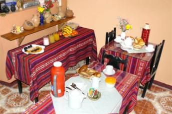 Cusco - HI Maison de la Jeunesse : Dining Area in Cusco - Maison de la Jeunesse, Peru