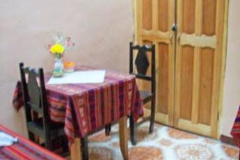 Cusco - HI Maison de la Jeunesse : comedor en Cusco - Maison de la Jeunesse, Perú