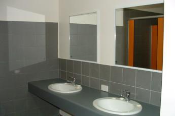 Margaret River YHA : Bathroom in the Margaret River hostel in Australia