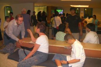 Dubai - B : los huéspedes relajarse en la televisión y salón en Dubai - B, Emiratos Árabes Unidos