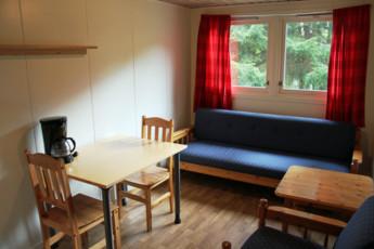 Fosseland : Lounge Area in Fosseland Hostel, Norway