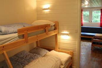 Fosseland : Family Room in Fosseland Hostel, Norway