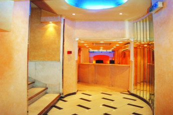 Athens - Hotel Lozanni : Reception Area in Athens - Hotel Lozanni Hostel, Greece