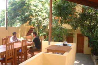 Manaus - Hostel Manaus : Patio Area in Hostel Manaus, Brazil