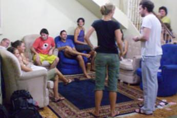 Manaus - Hostel Manaus : Lounge Area in Hostel Manaus, Brazil