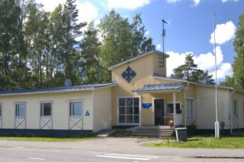 Joensuu - Scouts' Youth Hostel : Exterior view of the Scouts Youth Hostel in Finland