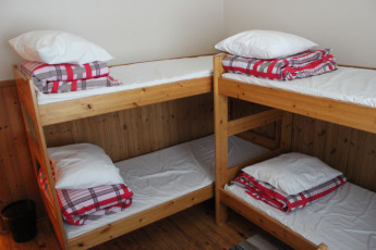 Joensuu - Scouts' Youth Hostel : Dorm room in the Scouts Youth Hostel in Finland