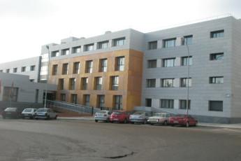 Soria - Antonio Machado R.J. : Exterior view of the Antonio Machado hostel in Spain