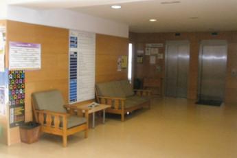 Soria - Antonio Machado R.J. : Reception lobby in the Antonio Machado hostel in Spain