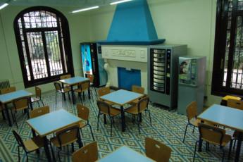 El Masnou - Josep M Batista : Lounge in der El Masnou Josep M Batista Hostel in Spanien