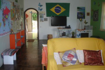 Joinville - Joinville Hostel : Lounge Area in Joinville Hostel, Brazil