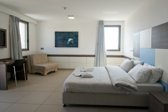 Akko - Knights Youth Hostel : Double Bedroom in Akko - Knights Youth Hostel, Israel