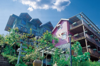 Shangrila Hanging Garden & Resort : Exterior View of Shangrila Hanging Garden and Resort Hostel, Taiwan