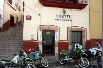 Zacatecas - Hostel Villa Colonial : Exterior View of Zacatecas - Hostel Villa Colonial, Mexico