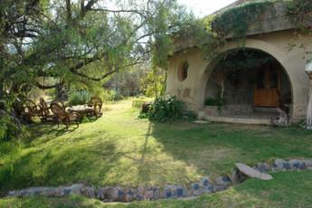 Cochabamba - Eco Hostel Planeta de Luz : Exterior View and Garden at Cochabamba - Eco Hostel Planeta de Luz, Bolivia