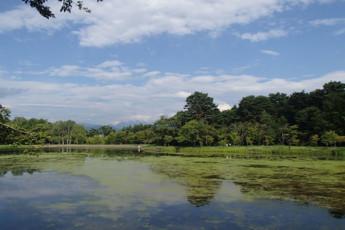 Nagano Pref - Komagane YH : Landscape at Nagano Pref - Komagane Youth Hostel, Japan