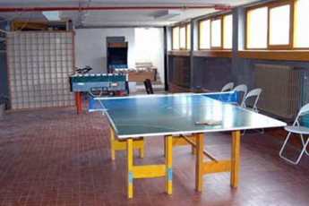 Abetone - Renzo Bizzarri : Entertainment Area in Abetone - Renzo Bizzarri Hostel, Italy