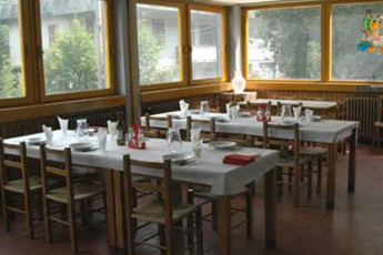 Abetone - Renzo Bizzarri : Dining Area in Abetone - Renzo Bizzarri Hostel, Italy