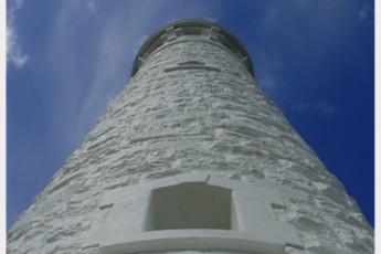 Augusta YHA : Lighthouse at Cape Leeuwin near Augusta Hostel, Australia