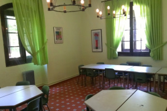 San Rafael - San Rafael : Dining Area in San Rafael Hostel, Spain
