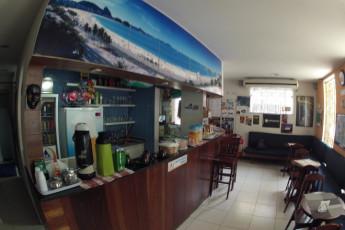 Rio De Janeiro – Rio Rockers Hostel : Coffee in the Rio Synth Hostel in Brazil