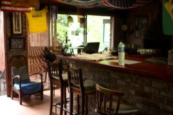 Nelspruit/Mbombela - Old Vic Backpackers : Bar Area in Nelspruit/Mbombela - Old Vic Backpackers Hostel, South Africa