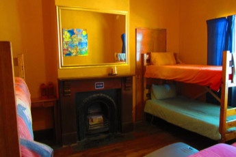 Whethu Grahamstown Backpackers : Basic dorm room in the Whethu Grahamstown Backpackers in South Africa