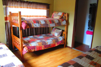 Whethu Grahamstown Backpackers : Dorm room in the Whethu Grahamstown Backpackers in South Africa