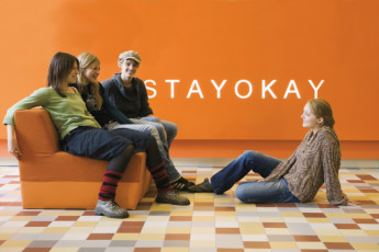 Stayokay Amsterdam Zeeburg : Lounge Area in Stayokay Amsterdam Zeeburg Hostel in the Netherlands