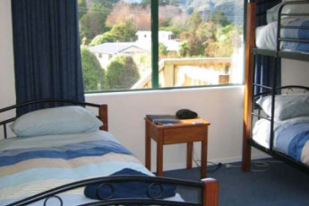 YHA Anakiwa : Dorm room in the Anakiwa Lodge Hostel in New Zealand