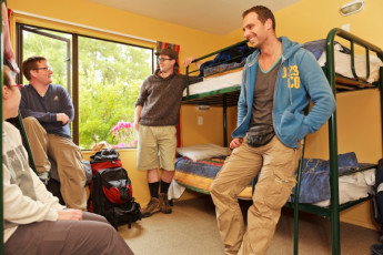 YHA Te Anau : Dorm room in the Te Anau Hostel in New Zealand