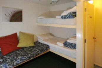 YHA Hamilton : Dorm room at the Hamilton Microtel Hostel, New Zealand