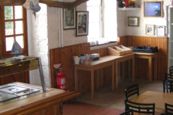 YHA Boggle Hole : Dining Area in Boggle Hole Hostel, England
