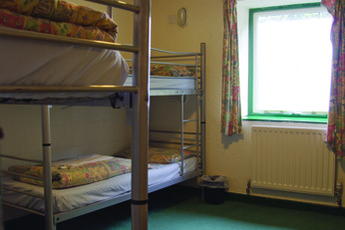 YHA Okehampton : Dorm room in the YHA Okehampton hostel in England