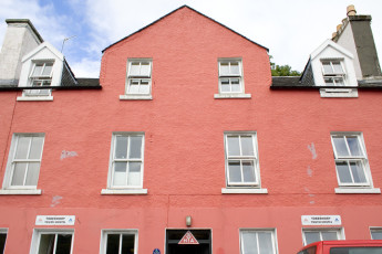 Tobermory SYHA : Front Exterior View of Tobermory Hostel, Scotland