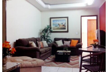 Paranaguá - Continente Hostel : TV and Lounge Area in Paranagua - Continente Hostel