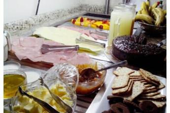 Paranaguá - Continente Hostel : Food in Paranagua - Continente Hostel