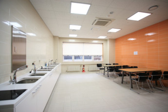 Hongcheon - Vivaldipark YH : Dining Area in Hongcheon - Vivaldipark Youth Hostel, South Korea