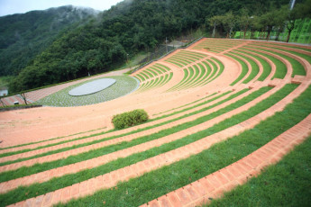 Hongcheon - Vivaldipark YH : Outdoor Amphitheatre at Hongcheon - Vivaldipark Youth Hostel, South Korea