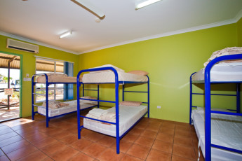 Exmouth - Excape Backpackers YHA : Dorm Room in Exmouth - Excape Backpackers YHA, Australia