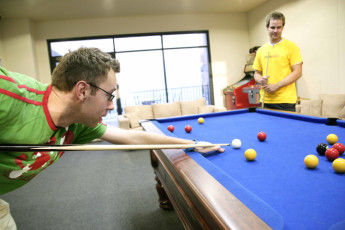 Perth City YHA : Games Room in Perth City Youth Hostel Association, Australia