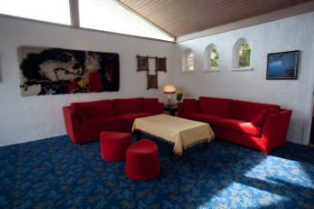 Balestrand : Lounge at Balestrand hostel