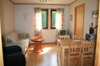 Sunndalsøra : Dining room at Sunndalsora hostel