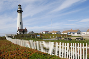 HI - Pescadero - Pigeon Point Lighthouse : HI - Pescadero - Pigeon Point Lighthouse exterior