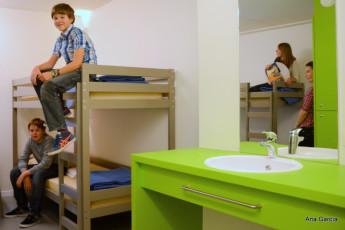 Oostende - De Ploate : dormitorio en Oostende - De Ploate albergue, Bélgica