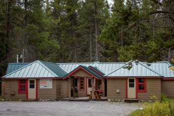 HI - Castle Mountain Wilderness Hostel : HI-Castle Mountain Wilderness Hostel