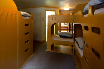 HI - Castle Mountain Wilderness Hostel : HI-Castle Mountain Wilderness Hostel Multi-Share room