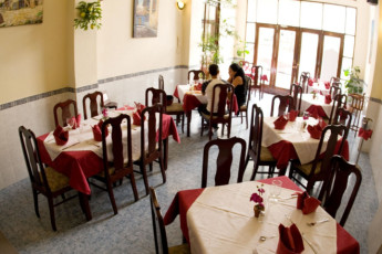 Santiago de Cuba - Hostel Libertad : Santiago de Cuba Hostel Libertad dining area