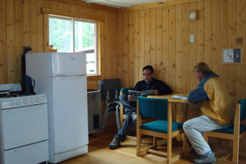 HI - Mosquito Creek Wilderness Hostel : HI-Mosquito Creek Wilderness Hostel Kitchen Cabin